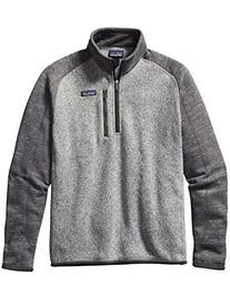 Patagonia Better Sweater Fleece Quarter Zip - Men's Nickel/
