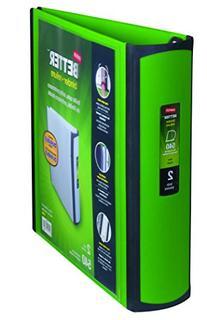 Staples Better Binder, 2-Inch, Green