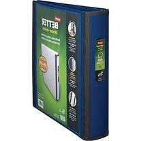 Staples Better 1.5-Inch 3-Ring View Binder, Blue