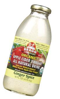 Bragg - Organic Apple Cider Vinegar All Natural Drink Ginger