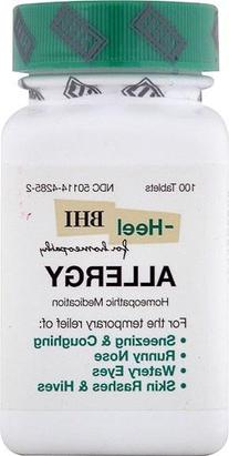 BHI/Heel - Allergy Relief - 100 Tablets