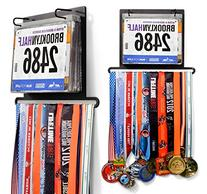 Gone For a Run BibFOLIO Plus Race Bib and Medal Display |