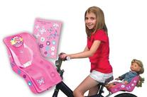 Ride Along Dolly Doll Bicycle Seat Bike Seat with Decorate