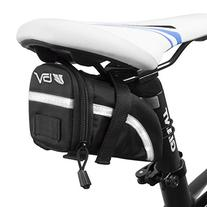BV Bicycle Strap-On Saddle Bag, Inside Mesh Pocket