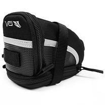 BV Bicycle Strap-On Saddle Bag / Seat Bag