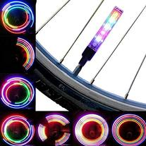 AOR Power® #AR127 Multicolor Bicycle Tire Valve Stem LED