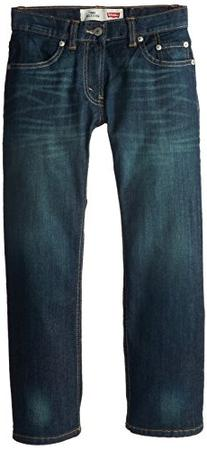 Levi's Big Boys' 505 Regular Fit Jeans, Cash, 10