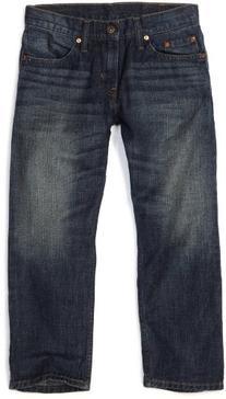 Levi's Big Boys' 505 Regular Fit Jeans, Roadie, 12 Husky
