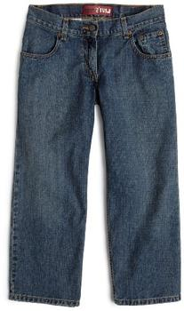 Levi's Big Boys' 550 Relaxed Fit Jeans, Clean Crosshatch, 12