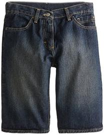 Wrangler Authentics Big Boys' Straight Fit Jeans, Blackened