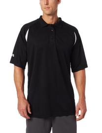 Russell Athletics Men's Big & Tall Color Blocked Polo, Grey/