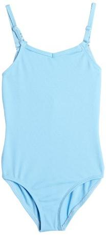 Big Girls' Team Basic Camisole Leotard W/ Adjustable Straps