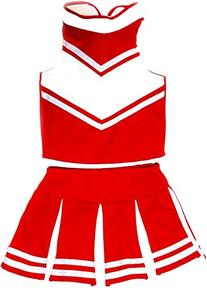 Little Girls' Cheerleader Cheerleading Outfit Uniform
