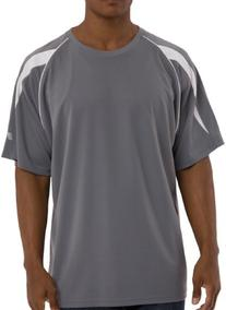Russell Athletic Big & Tall Dri-Power Crew with shoulder