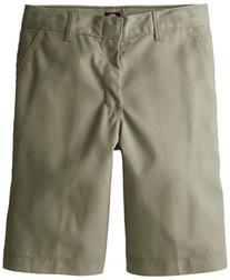 Dickies Big Boys' Flex Waist Flat Front School Uniform Short