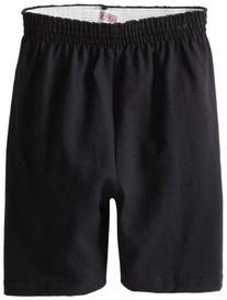 Soffe Big Boys' Heavy Weight Cotton Short, Black, Medium