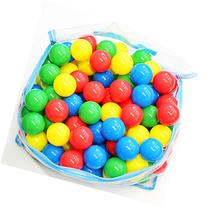 200 Pk Big Ol' Ball Toyz 5.5 cm Crush Proof Fun Ball Pit