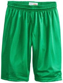 Soffe Big Boys' 7 Inch Poly Mini Mesh Short, Kelly, X-Small