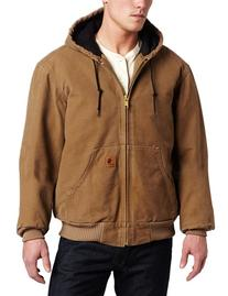 Carhartt Men's Big & Tall Quilted Flannel Lined Sandstone