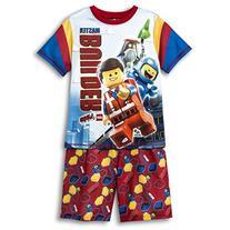 Lego Movie Big Boy 2 PC Short Sleeve Pajama Set