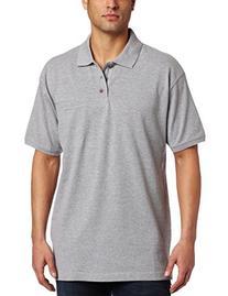 Dickies Men's Short Sleeve Mini Pique Polo With Moisture