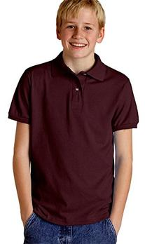Jerzees Youth 5.6 oz., 50/50 Jersey Polo with SpotShield -