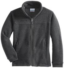 Columbia Big Boys' Steens Mt II Fleece, Charcoal Heather,