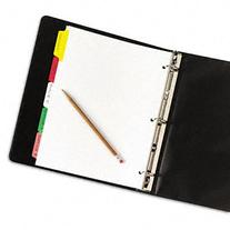 Avery Big Tab Write & Erase Dividers, 5 Multicolor Tabs, 1