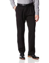 Lee Men's Big-Tall Comfort Waist Custom Fit Pleated Pant,
