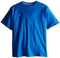Champion Men's Big-Tall Crew Neck Jersey T-Shirt, Columbia