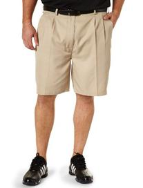 Reebok Big & Tall Golf Play Dry Continuous Comfort Pleated