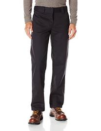 Dickies Men's Slim Straight Fit Work Pant, Washed Black,