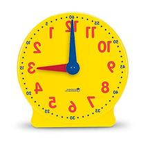 Big Time Learning Clocks 12-Hour Demonstration Clock for