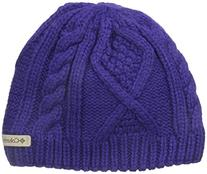 Columbia Big Girls' Youth Cable Cutie Beanie, Hyper Purple,