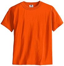 Russell Big Boys' Youth Nublend T-Shirt, Burnt Orange, Small