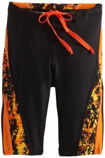 Speedo Big Boys' Youth Splatter Splash Jammer Swimsuit,