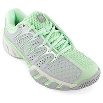 K-Swiss Women's Bigshot 2 Tennis Shoe,Storm/Patina Green,9 M