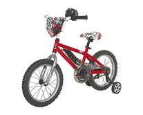 Hot Wheels Boys Bike, Red/Black/Silver, 16