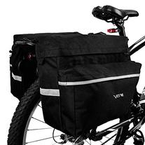 BV Bike Bag Bicycle Panniers with Adjustable Hooks, Carrying