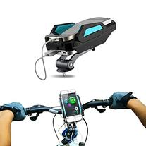 Bike Mount Phone Holder Charger- 6000Mah Power Bank- Charge