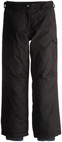 White Sierra Boy's Bilko Pant, Black, X-Small