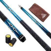 CUESOUL Billiards 58-Inch 19 Oz Canadian Maple Pool Cue