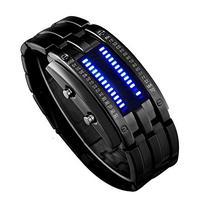 Fanmis Binary LED Technological Sense Men's Sports Wrist