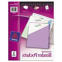 Avery Binder Pockets, Acid Free, Pack of 5