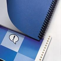 Binding Machine Grain™ Textured Covers, Slate Gray, 25