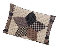 "Bingham Star 21x27"" Quilted Pillow Sham"