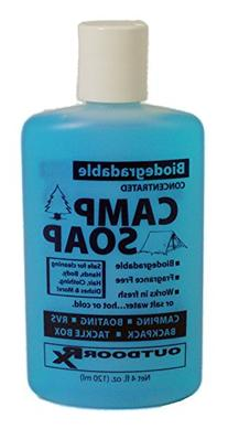 Outdoor RX Biodegradable, Concentrated, Fragrance Free Camp
