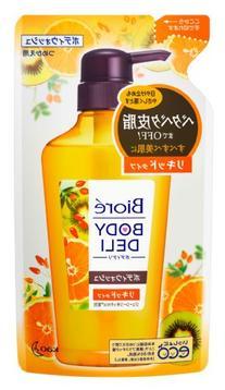 Kao Biore BODY DELI | Body Wash | Juicy Shampoo Orange &