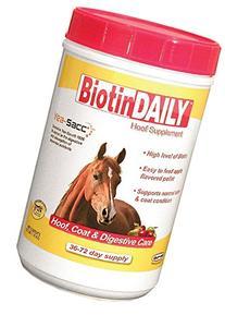 Durvet Biotin Daily Horse Hoof Care, 2.5 lb