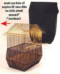Sheer Guard Bird Cage Set Skirt and Cover - Small Size